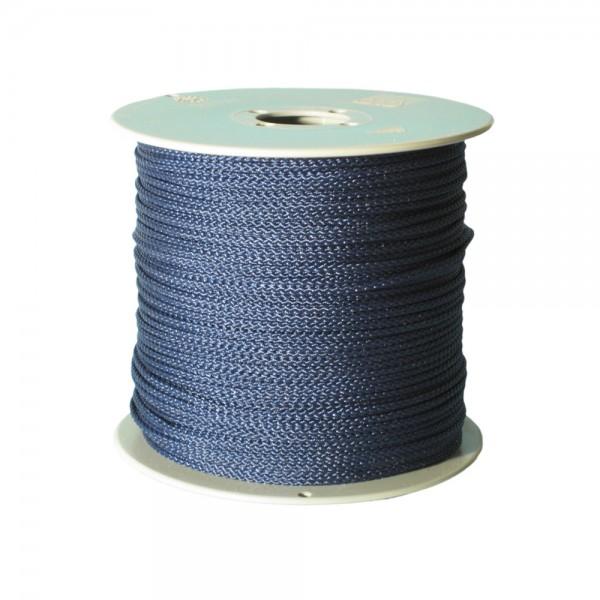 100 m Schnurrolle, 1,5 mm Durchmesser, dunkelblau