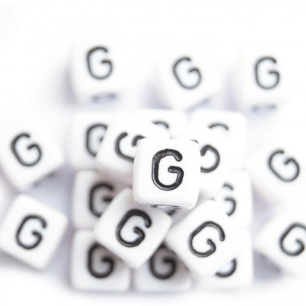 ca. 550 Kunststoffbuchstabenwürfel 10 mm G