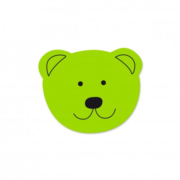 Angebot Motivperle Mini-Bär vertikal apfelgrün