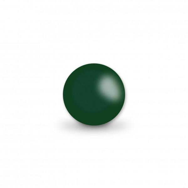 Ausverkauf Uniperlen 10 mm moosgrün