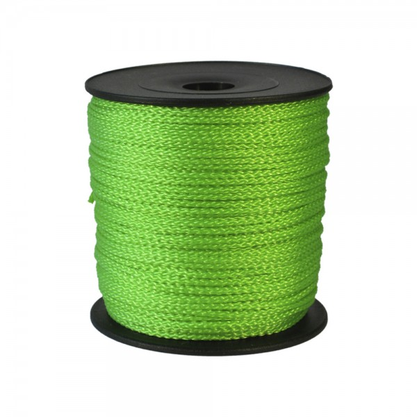 100 m Schnurrolle, 1,5 mm Durchmesser, hellgrün