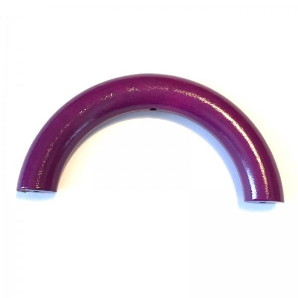 Sale Halbring 100 mm mit Bohrung violett