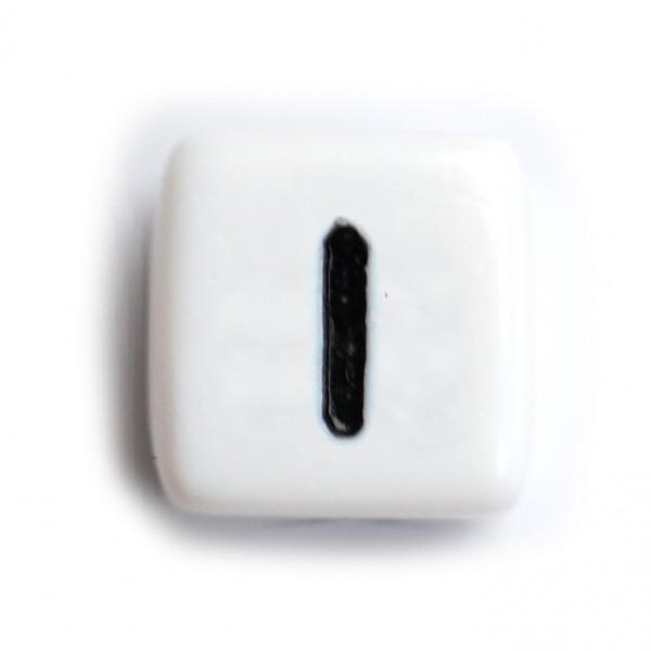 Kunststoffbuchstabenwürfel 10 mm einzeln I