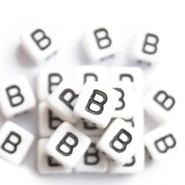 ca. 550 Kunststoffbuchstabenwürfel 10 mm B