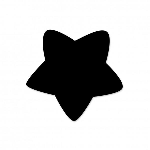 Motivperle Sternchen horizontal schwarz