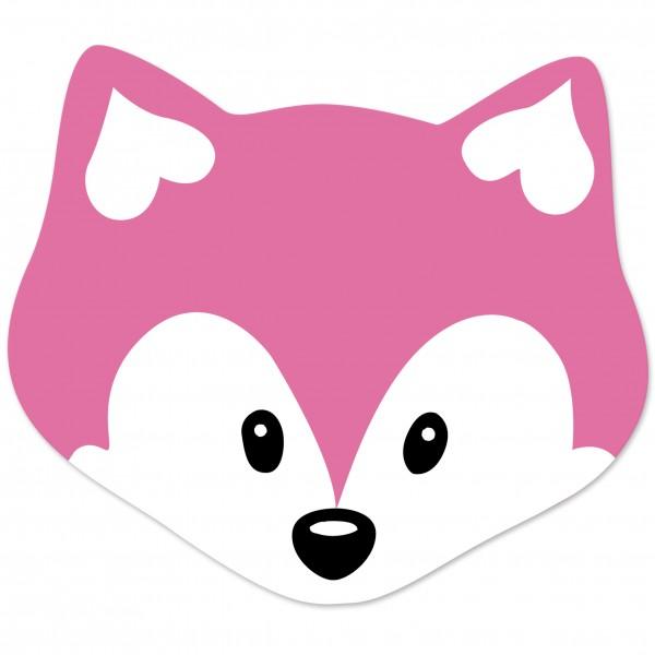 Angebot Motivperle Maxi-Fuchs vertikal pink
