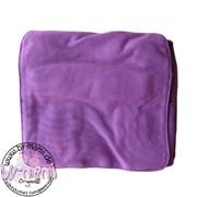 Schultertaschenrohling aus Canvas violett