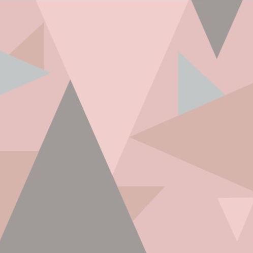wishful ease by brinarina Dreiecke rose quartz