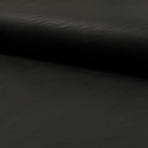 1m Reststück, Lederjerseyimitat schwarz