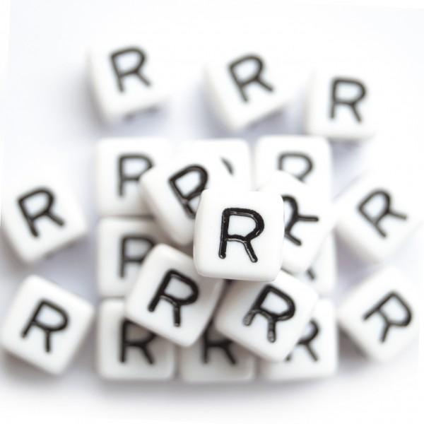 ca. 550 Kunststoffbuchstabenwürfel 10 mm R