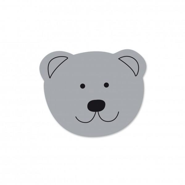 Angebot Motivperle Mini-Bär vertikal hellgrau