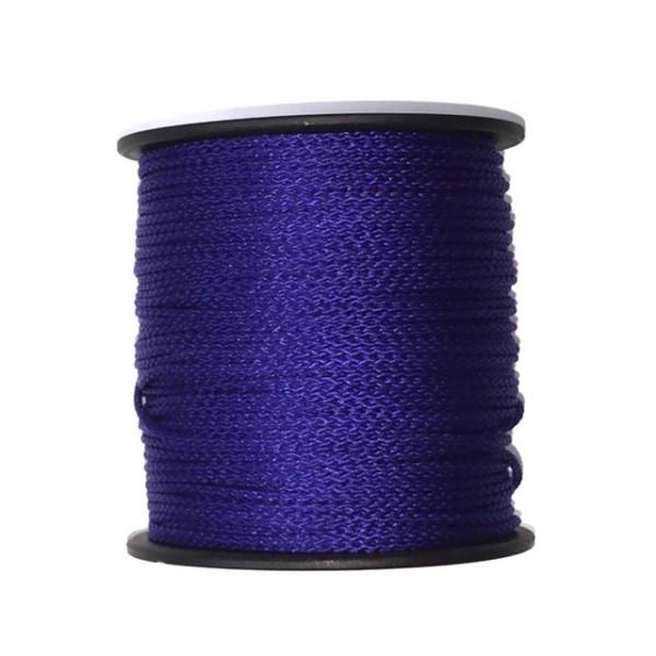 100 m Schnurrolle, 1,5 mm Durchmesser, königsblau