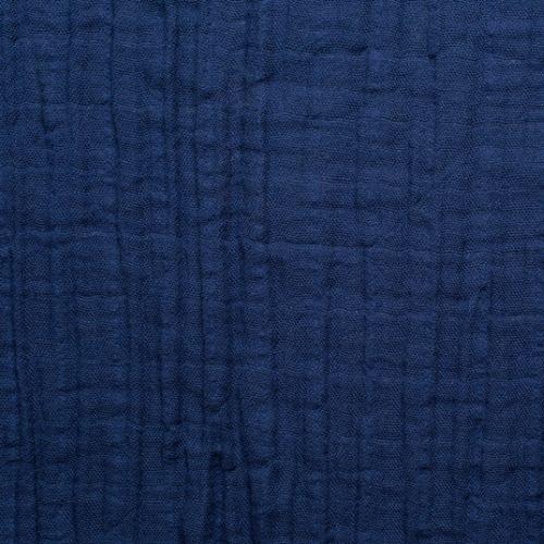 DEAL Sale Musselin Embrace Double Gauze Solid cobalt