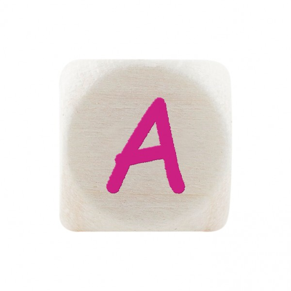 Angebot Premiumbuchstabe 10 mm magenta A