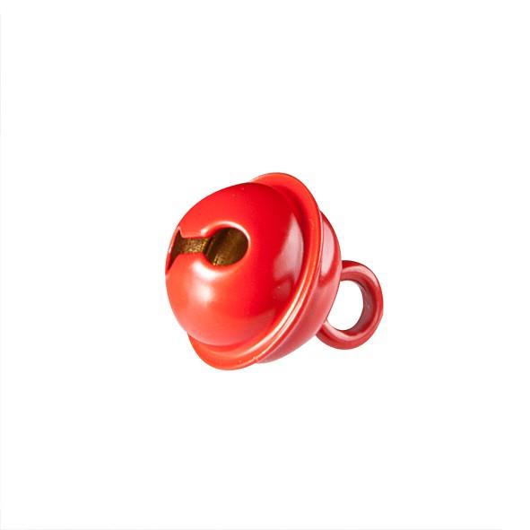 Glöckchen 11 mm rot