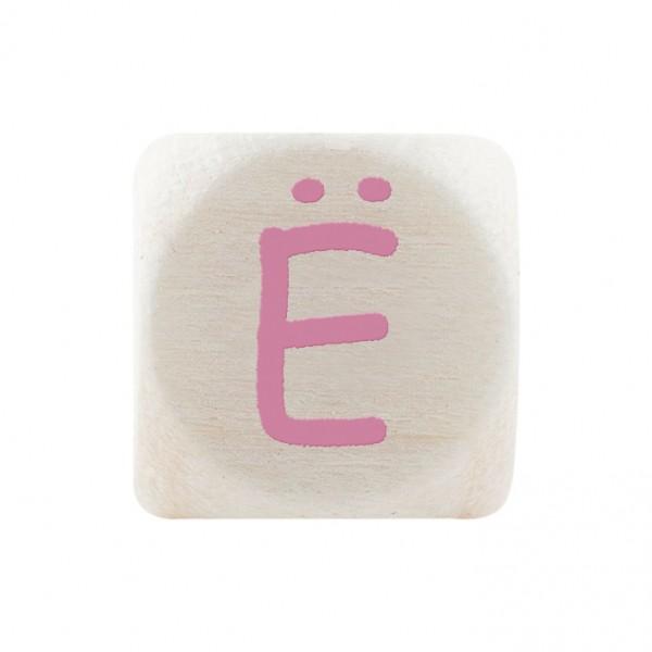Premiumbuchstabe 10 mm rosa Ë