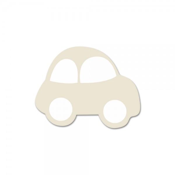 Angebot Motivperle Auto horizontal hellnatur/weiß