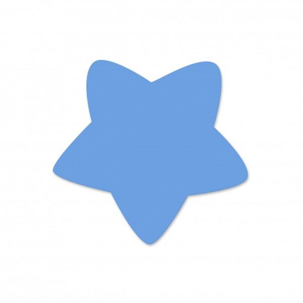 Motivperle Sternchen horizontal hellblau