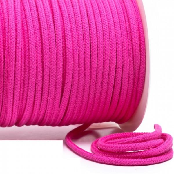 Kordel 100% Baumwolle 6 mm pink