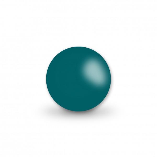 Ausverkauf Uniperlen 12 mm dunkelpetrol