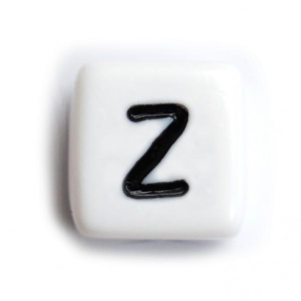 Kunststoffbuchstabenwürfel 10 mm einzeln Z