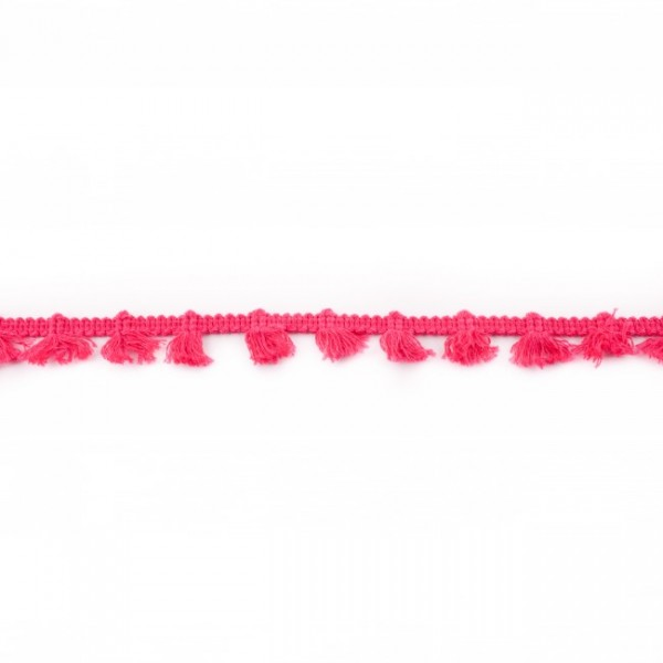 Quastenband 1,5cm pink