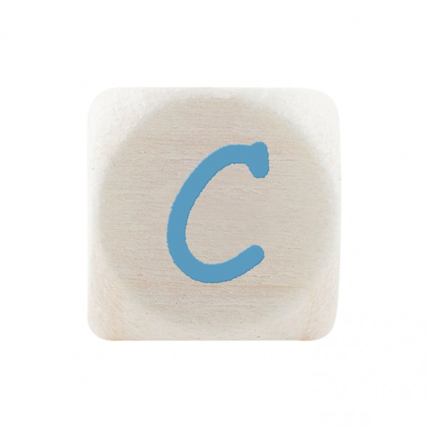 Premiumbuchstabe 10 mm babyblau C