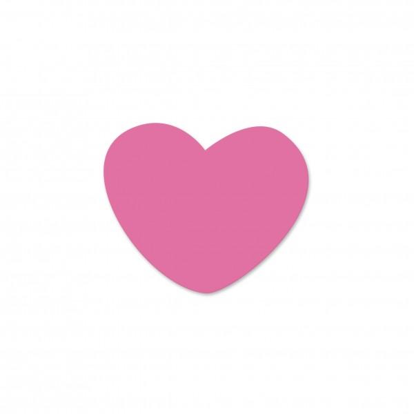 Angebot Motivperle Miniherzchen vertikal pink