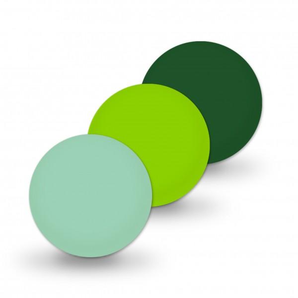 Ausverkauf Uniperlen 12 mm mint-mix