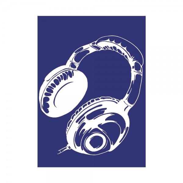 Schablone A4, Kopfhörer