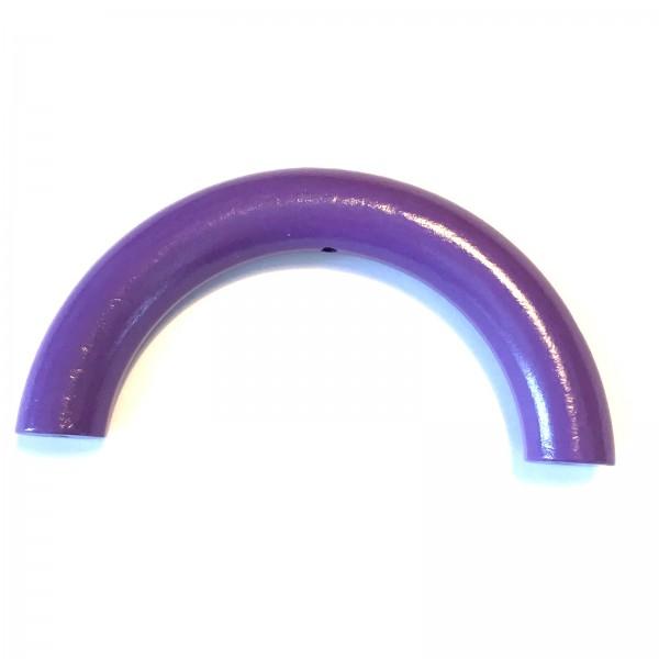 Halbring 100 mm mit Bohrung lila