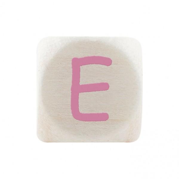 Premiumbuchstabe 10 mm rosa E