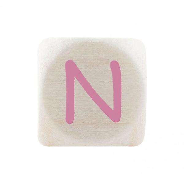Premiumbuchstabe 10 mm rosa N