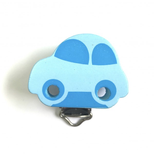 Formclip Auto babyblau/skyblau