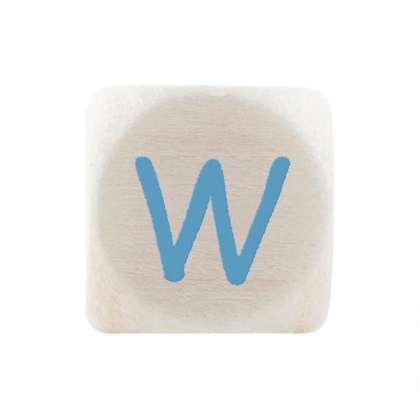 Premiumbuchstabe 10 mm babyblau W