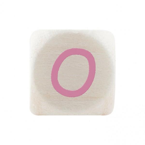 Premiumbuchstabe 10 mm rosa O