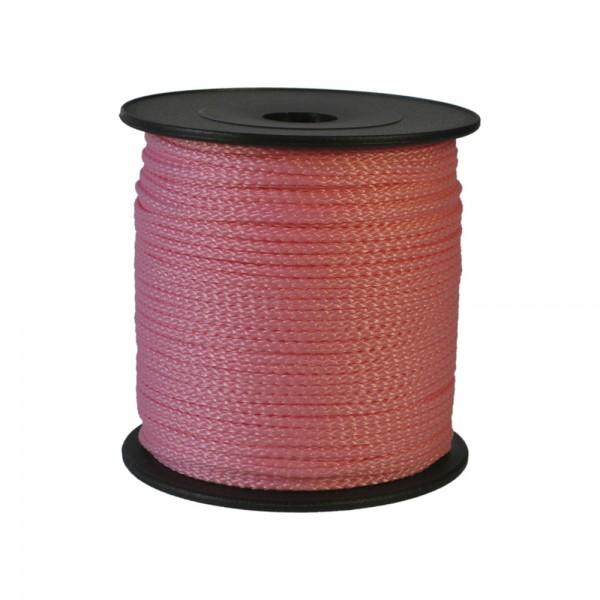 100 m Schnurrolle, 1,5 mm Durchmesser, rosa